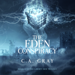 Now on Audible: The Eden Conspiracy!