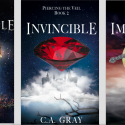 "New Covers for ""Piercing the Veil"""